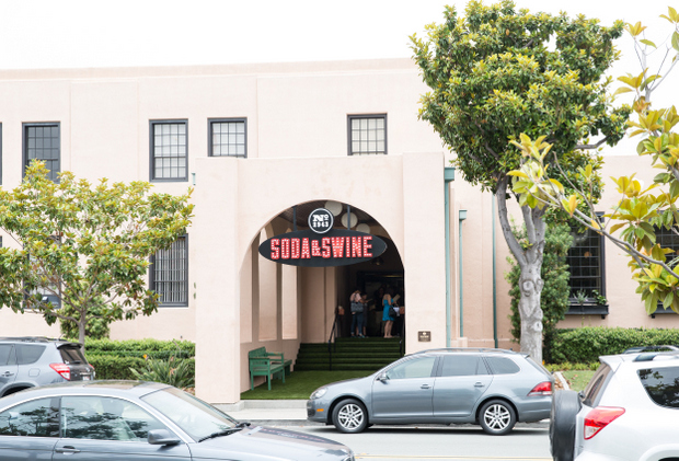photo of the outside of Soda & Swine