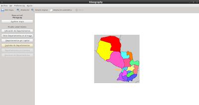 Imagen de KGeography en Ubuntu 10.04