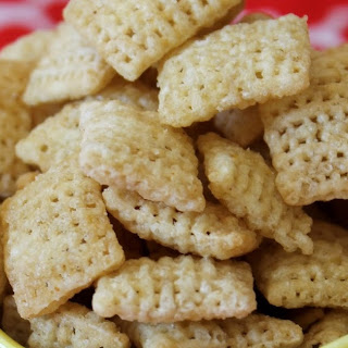 Single Serve Microwave Chex Mix.