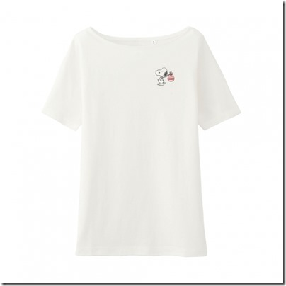 Uniqlo UT WOMEN Peanuts Short Sleeve Graphic T-Shirt 13