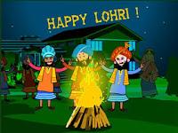 Happy Lohri Shayari for Whatsapp
