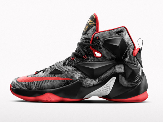 Nike Launches Special LeBron 13 iD to Celebrate James 25K Points