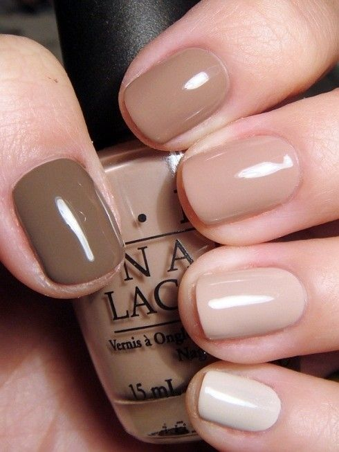 Light Brown Nails : light, brown, nails, BEAUTIFUL, LIGHT, BROWN, IDEAS, Styles