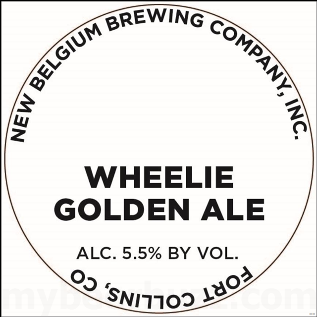 New Belgium - Wheelie Golden Ale