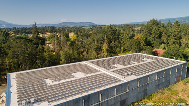 Double Mountain Brewery Solar Panel Installation
