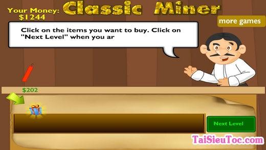 Cửa hàng thuốc nổ khi chơi đào vàng trên iphone, ipad