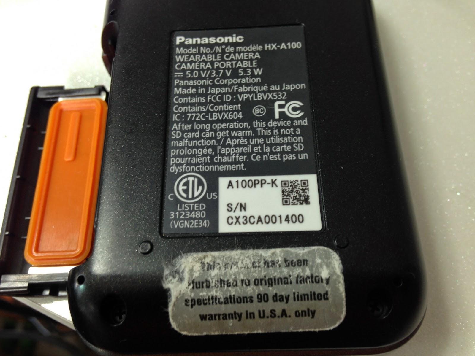 미국내에서만 AS가 가능하다가 파나소닉 hx-a100 캠코더 구매대행 수입 제품
