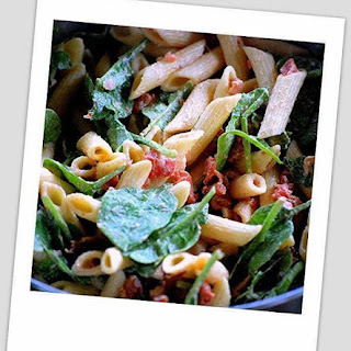 ~ Bacon - Spinach - Tomato - Pasta Salad ~