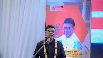 Menteri PAN RB Launching Mall Pelayanan Publik di Mall Technomart Galuh Mas Karawang