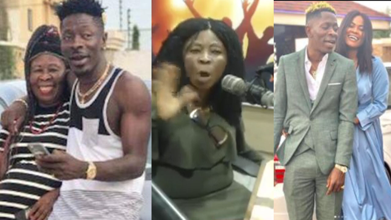 I've not seen Shatta Wale for 3 years, he stopped giving me money because his girlfriend said I'm a witch – Shatta Wale's mother reveals