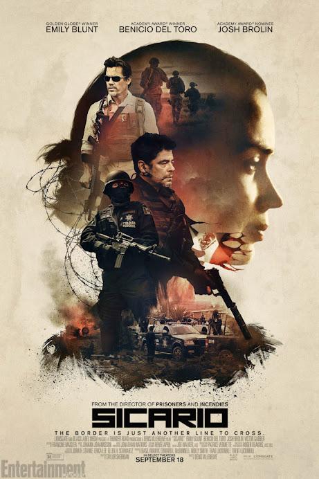 Sicario: Ο Εκτελεστής (Sicario) Poster