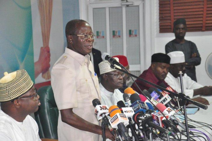 BREAKING: Nigerian Police Seal APC Headquarters In Abuja