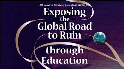 A video reviews the global road to ruin through education