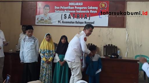 Ketua Satria Kabupaten SukabumiTeddy Setiadi// Foto : Isep. Panji