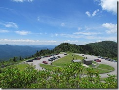 Parking Lot at Waterrock Knob