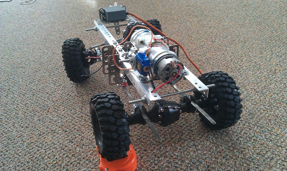 rc off road chis with Homemade Steering Large Scale Rc Cars on Tamiya Cheetah Parts in addition How To Build A Rat Rod Front End besides Homemade Steering Large Scale Rc Cars as well Swing Axle Suspension likewise How To Build A 4 Link Suspension.