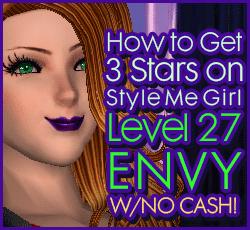 Style Me Girl Level 27 -  Envy - Layla - Stunning! Three Stars