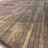 The sun really does some damage to wood when it is not oiled regularly