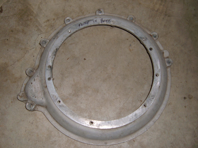 Put a 32-48 Ford trans behind your 53-56 264-322 engine, used 195.00