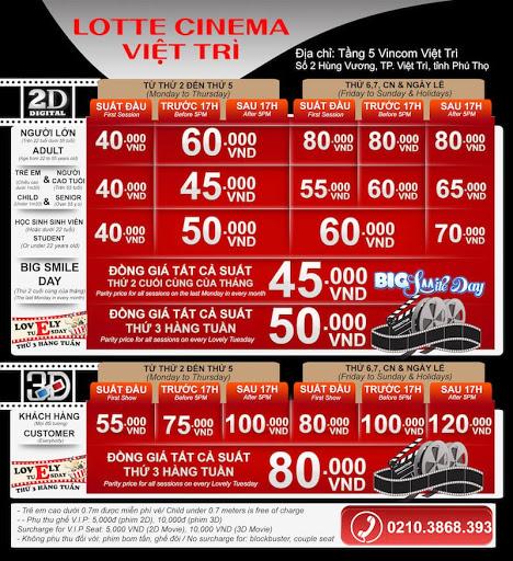 Lotte Vincom Việt Trì, lotte tiên cát