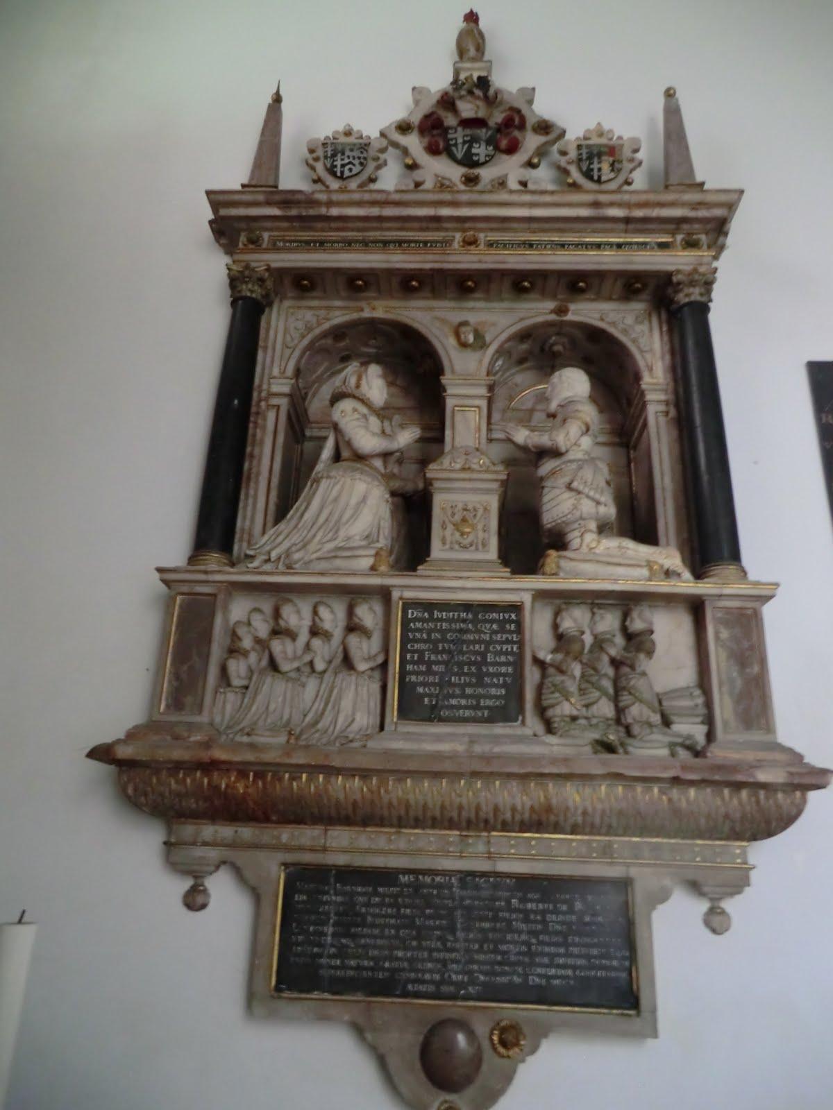 CIMG2578 Barnham monument, All Saints church