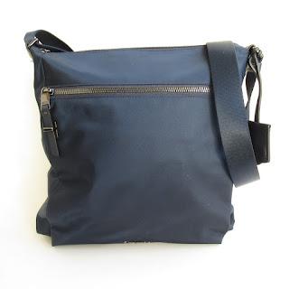 Tumi Blue Crossbody Bag