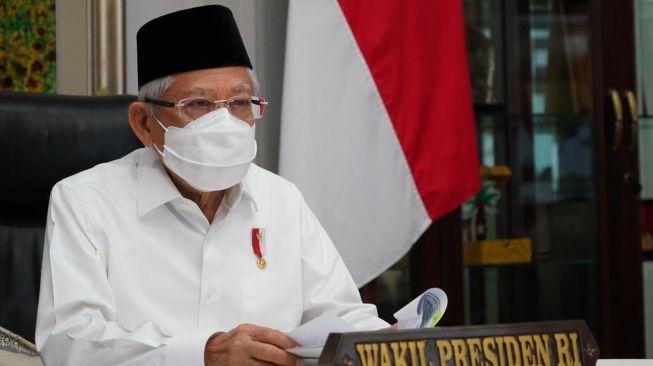 Jokowi Teken Perpres Dana Pesantren, Wapres Ma'ruf: Anggarannya Sedang Dihitung