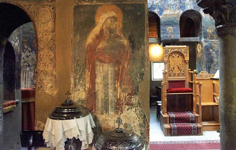 21. The Byzantine Church of Agios Nikolaos Orfanos. Interior