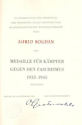 165a Medaille für Kämpfer gegen Faschismus 1933-1945 http://sites.google.com/site/ddrmed/