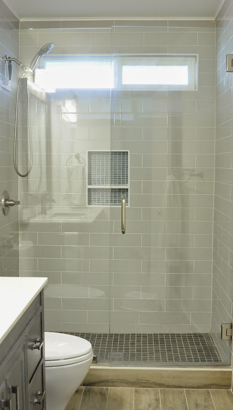Replacing bathtub with standing shower
