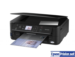 How to reset Epson WorkForce 625 printer