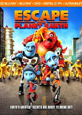 Filme Poster A Fuga do Planeta Terra BDRip XviD & RMVB Legendado