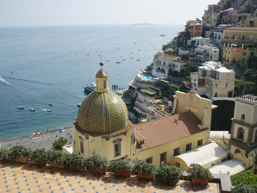 A look at the charming hillside seaport of Positano, Italy.