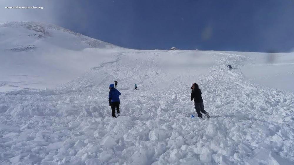 Avalanche Dévoluy, secteur Tête de l'Aupet, Vallon des Narrites - Photo 1