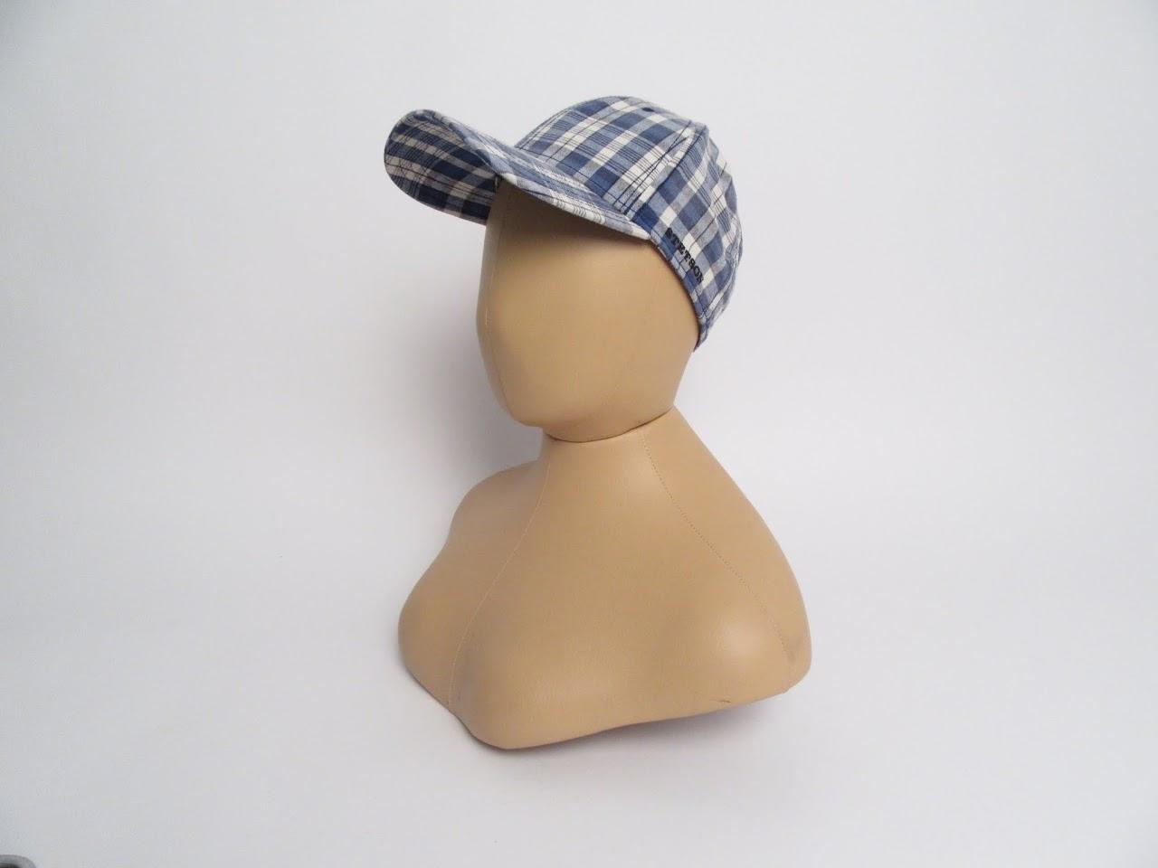 Stetson Plaid Baseball Cap