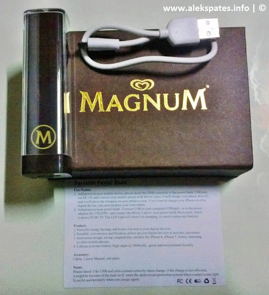 My New Magnum Power Bank