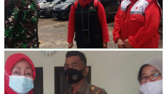 Bantu Korban Banjir, Ini Pesan Ketua PMI Buat Pemkab Karawang