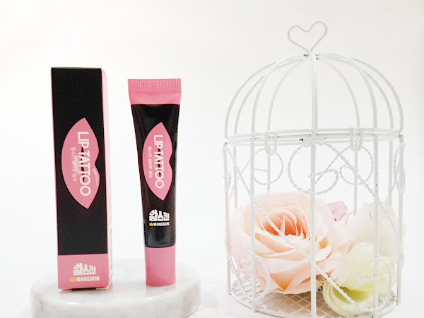 Review Wangskin Lip Tattoo #Lovely Pink