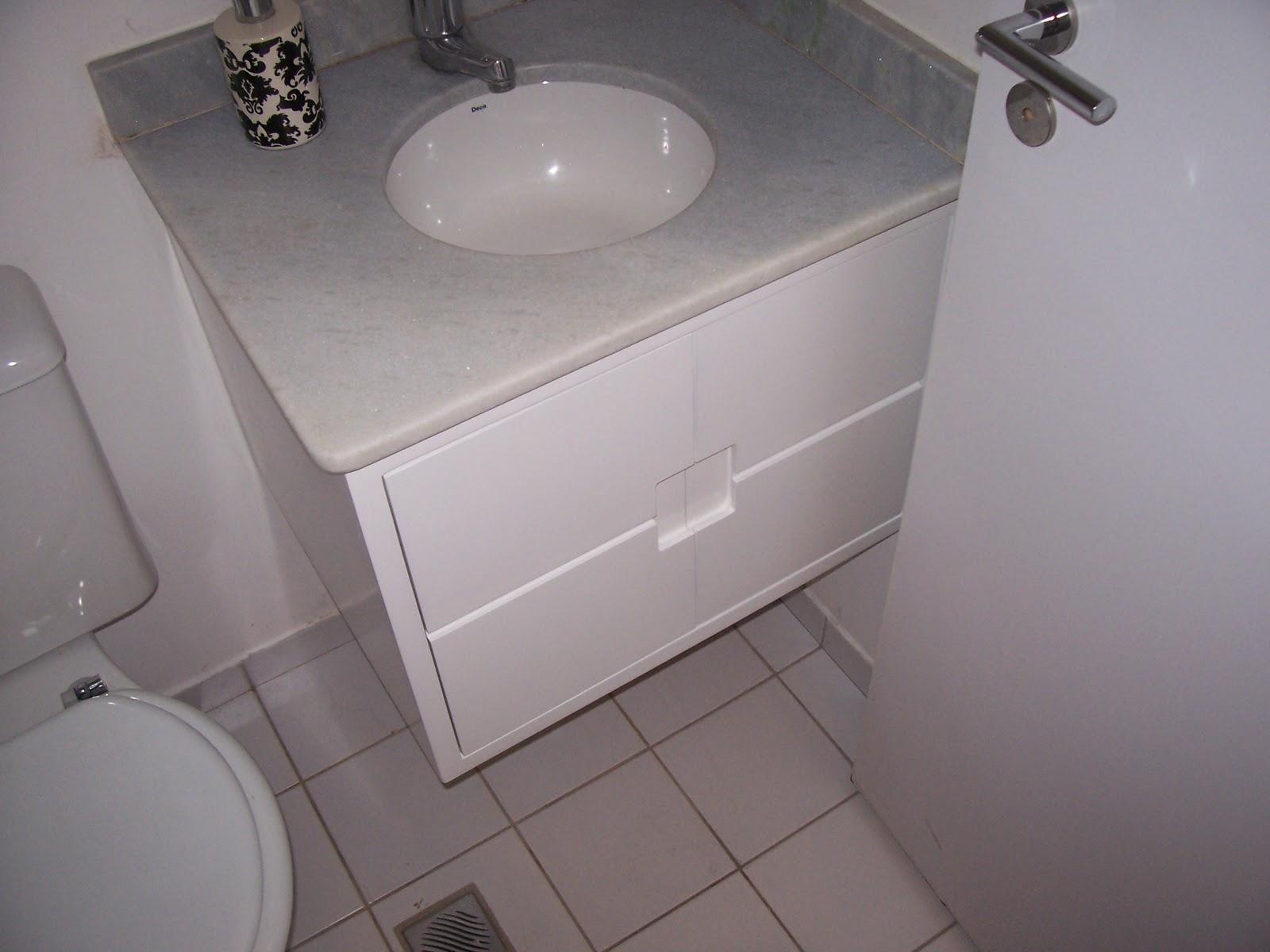Gabinete em MDF e Laca Branco Fosco #625852 1600x1200 Banheiro Branco Fosco