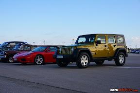 Ferrari and Wrangler