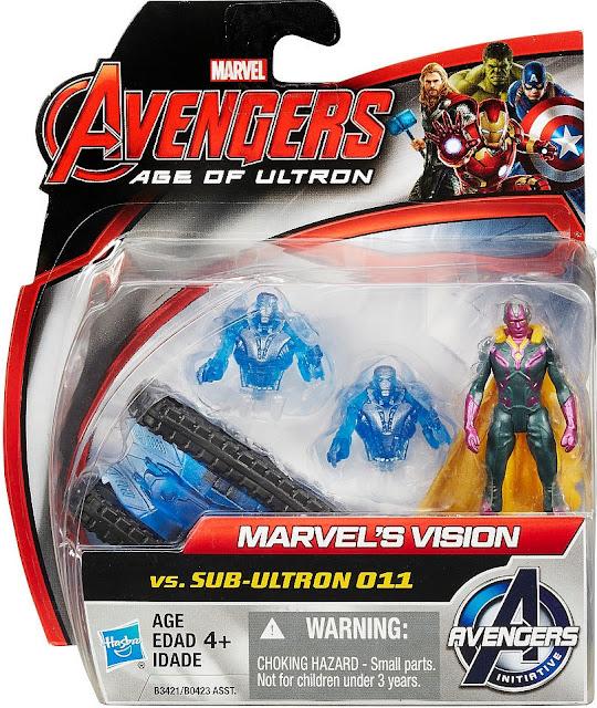 Mô hình Marvel Vision và Sub Ultron 011 làm từ chất liệu cao cấp