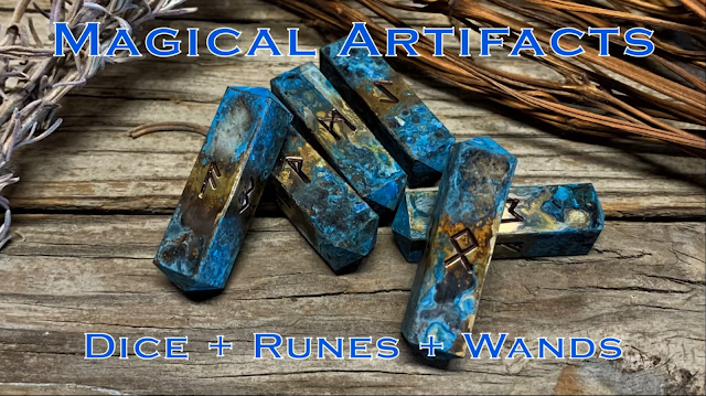 Dice, Runes, and Magical Artifacts for RPG's and Witchcraft
