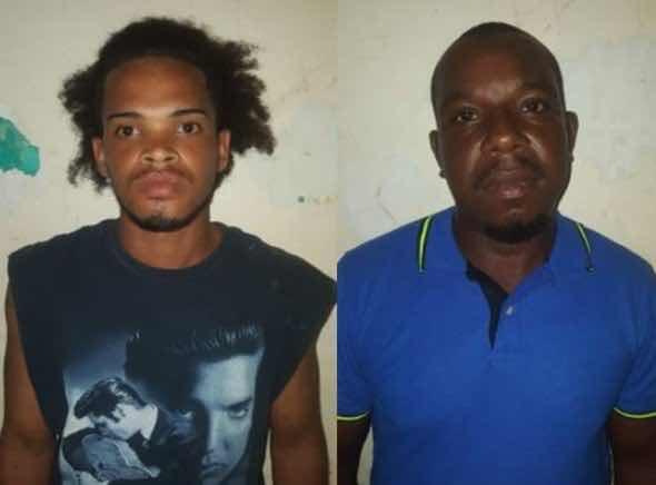Los detenidos son Michel Ventura Sánchez, de 27 años, y Miguel Ángel Núñez Green alias Luisito, de 18 años.
