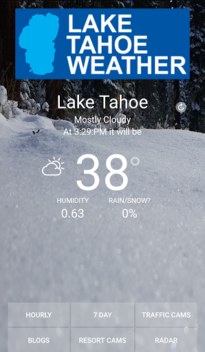 Lake Tahoe Weather