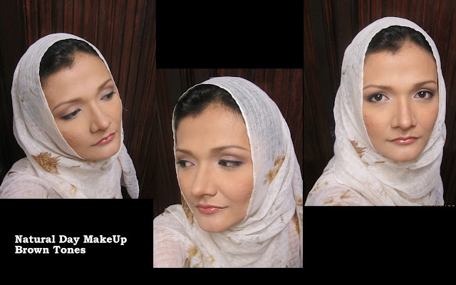 Classic, natural nikah makeup