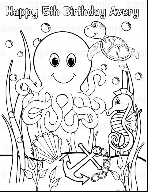 Surprising Under The Sea Coloring Pages Printable With Under The Sea  Coloring Pages And Ariel Under