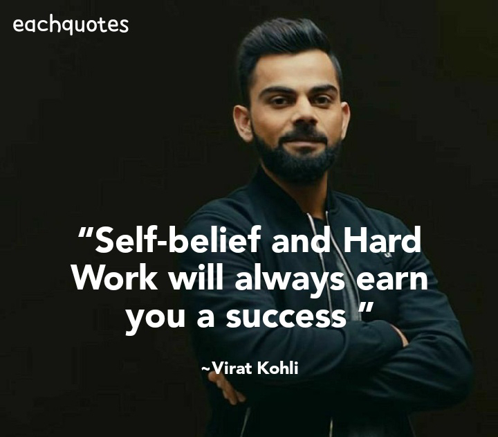 15 Most Inpirational and Motivational Quotes Of Virat Kohli By Eachquotes