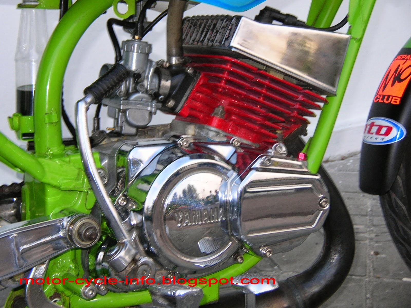 Modifikasi Mesin Motor Yamaha Mio