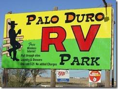 Palo Duro RV Park