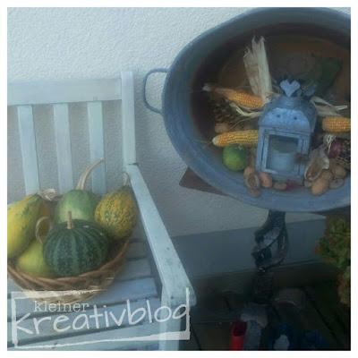 kleiner-kreativblog: Herbstliche Außendeko